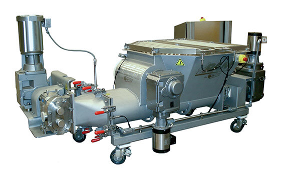 High-Viscosity RAM Pump Feeder